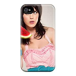 [txlDTiy611jqlLB]premium Phone Case For Iphone 4/4s/ Katy Perry Pink Dress Celebrities Tpu Case Cover