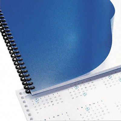 GBC Solids Standard Presentation Covers, Non-Window, Square Corners, Navy, 50 Pieces Per Box (2514494) by GBC