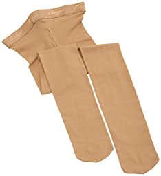 Capezio Girls 2-6x Hold & Stretch Footed Tight, Caramel, Toddler,single