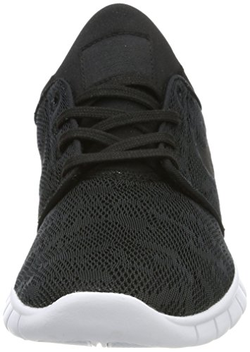 Nike Mens Bruin Mid Casual Scarpa Nera / Nero-bianca