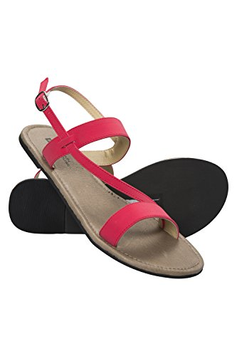 Mountain Warehouse Womens Beach Sandals Rosa brillante