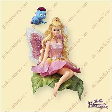 Fairytopia Set (BARBIE - FAIRYTOPIA 2006 Hallmark Ornament QXI6206)