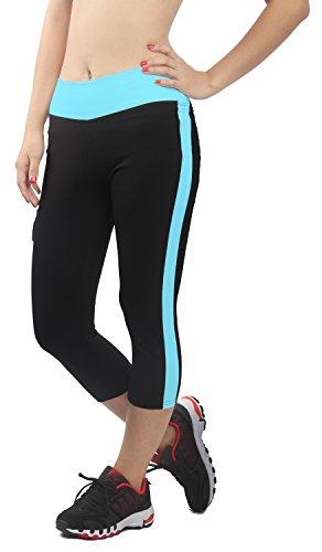 Leggings Multicolor 4how 4 con para mujer 3 bolsillo cielo Corsair Sport Azul 4qw4Sr0