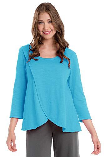 Buddha Turquoise Para Mujer Neon Camisas Blue Light w4FxwCR7cq