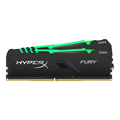 HyperX Fury (HX437C19FB3AK2/32) Memoria 3733MHz DDR4 CL19 DIMM 32GB (Kit 2x16GB) RGB