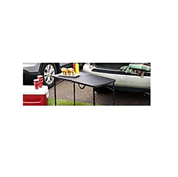 Mainstays 20 x 40 Fold-in-Half Table, Black