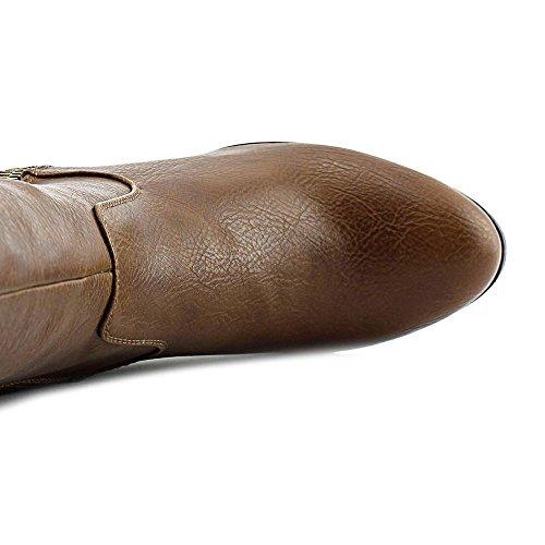 Fashion Boots Violet Womens Knee Closed Cognac High Rialto Toe Y6xqqw
