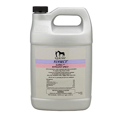 - Farnam Equicare Flysect Super-7 Repellent Spray, 1 gallon