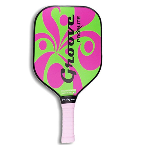 ProLite Groove Pickleball Paddle - Lime/Pink