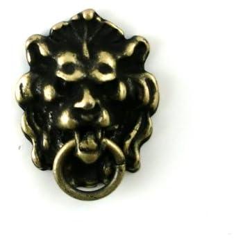 Dollhouse Miniature 1:12 Scale Antique Lion Head Knocker #S3077a Town Square Miniatures SG/_B00BHYZ8SC/_US