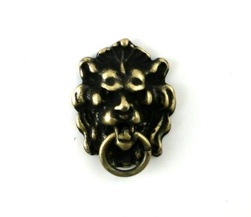 Dollhouse Miniature 1:12 Scale Antique Lion Head Knocker #S3077a