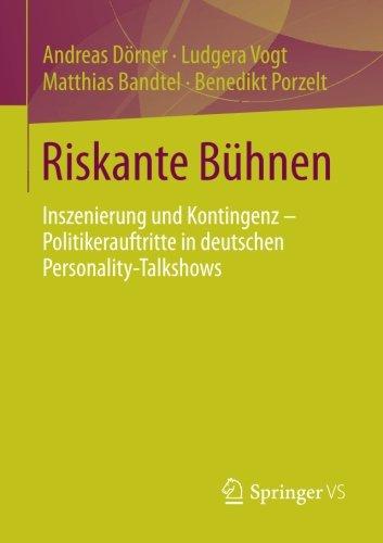Riskante Bühnen Taschenbuch – 23. Dezember 2014 Andreas Dörner Ludgera Vogt Matthias Bandtel Benedikt Porzelt