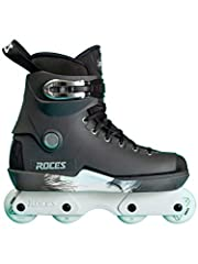The Roces M12 Nils Jansons signature inline skates. Featuring the timeless Roces Majestic 12 boots, Lo Cuffs, memory buckles, improved Roces liners (with memory foam), and Toces logo carry straps. The replaceable one piece M12 Souls have a un...