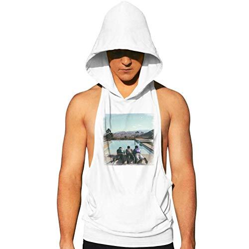 (Men's Sleeveless T-Shirts Jonas-Brothers-Happiness-Begins-Album- Gym Tank Tops Hoodie)