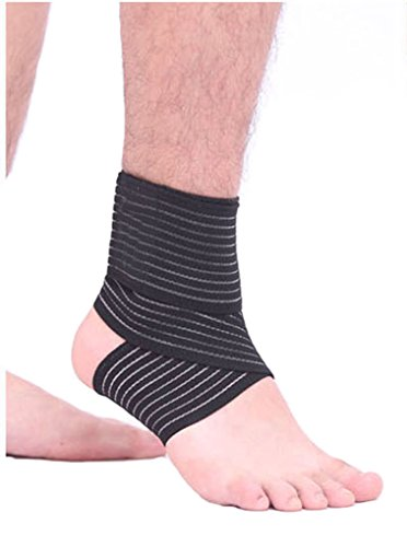 Men Women Compression Ankle Support Tape Bandage Outdoor Gym Fitness Running Basketball Skating Dance Wrap-around Adjustable Ankle Brace Strap Protector Guard, 1 - Groin Pad Female