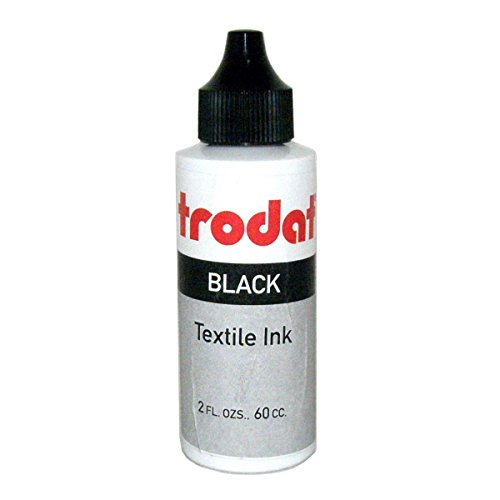 (Trodat Textile and Clothing Marker Ink, 60 cc (2 oz) bottle)