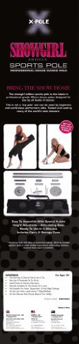 Showgirl Dance Pole Portable Kit Made By X-pole 45mm Xpole
