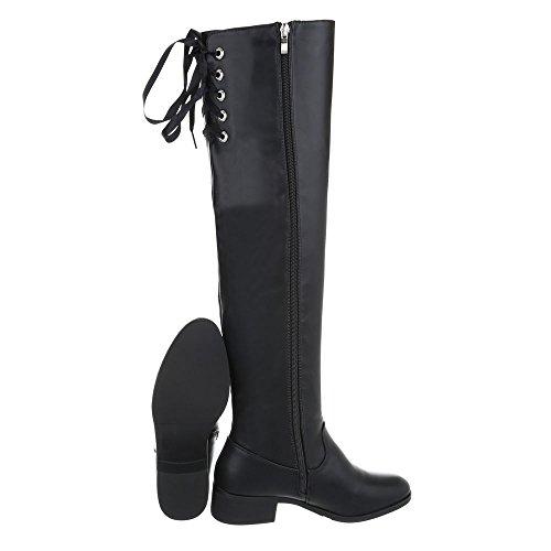 Nr 2 Modell Schuhe Stiefel Schuhcity24 Damen Schwarz Moderne n8Haaq