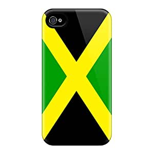 Fashion Cases For Iphone 6- Jamaica Flag Defender Cases Covers