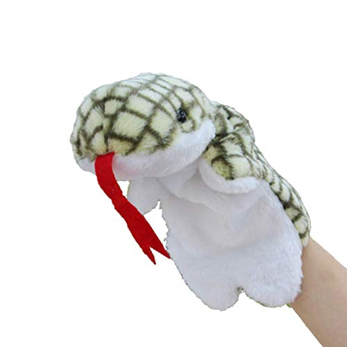 COSHAYSOO Hand Puppets Animal Friends Deluxe Kids for Imaginative Play (Snake) ()