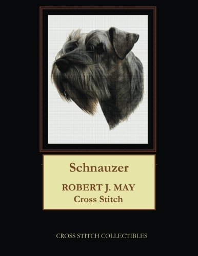 Schnauzer: Robt. J. May Cross Stitch Pattern