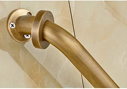 バスルーム手すり バスルームグラブバー - 銅のボディアームレスト - バスルームオールドマンノンスリップバスタブグラブレール - トイレ手すりバリアバー