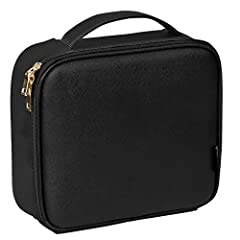 Pro-Level Cosmetic Bag Still stuffing all of your beautiful, hard-earned palettes and foundations into just any old bag? You beauty buys deserve to be cradled in something good and professional. This SONGMICS cosmetic bag is the perfect carry...