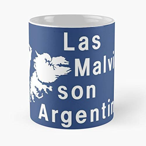 Malvinas Son Argentinas - Ceramic Novelty Cup Best Gift For Father Day ()