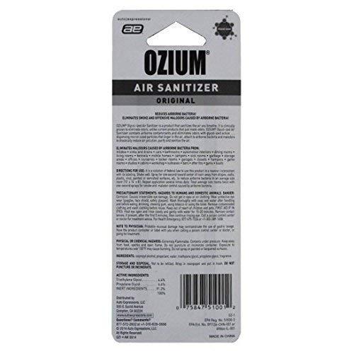 Medo Ozium Glycol-Ized Professional Air Sanitizer/Freshener Original Scent, 0.8 oz. aerosol (OZ-1), 6 Pack by Medo (Image #4)