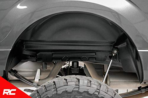 Rough Country Rear Wheel Well Liners (fits) 2015-2019 F150 (F-150) 4515 Rear Wheel Well Liners