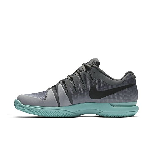 outlet shop offer outlet brand new unisex Men's Nike Zoom Vapor 9.5 Tour Tennis Shoes (Winter 2017 colors) Dark Grey/ Black- Aurora Green extremely cheap price fV0Chgogy