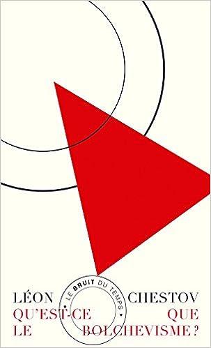 Livres Qu'est-ce-que le bolchévisme ? : Suivi de Les oiseaux de feu et de Les menaces des barbares d'aujourd'hui pdf
