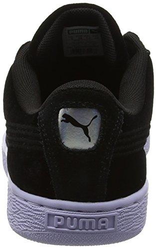 Sneakers Basses Puma Velour Noir Classic Basket Femme VR wqqvUOz
