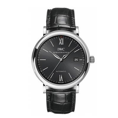 IWC RELOJ DE HOMBRE AUTOMÁTICO 40MM CORREA DE CUERO DE COCODRILO IW356502: Amazon.es: Relojes
