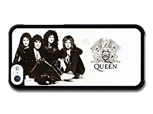 MMZ DIY PHONE CASEAMAF ? Accessories Queen Band Sitting Freddie Mercury case for iphone 5/5s