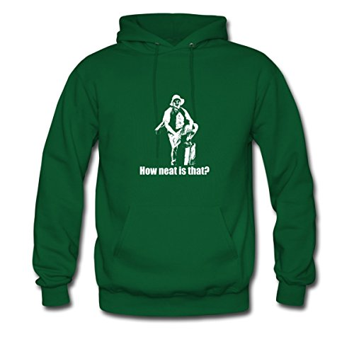 Lenny Pepperbottom How Neat Is That Men's Hoodie by Spreadshirt, M, forest green