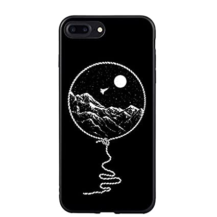 competitive price 7ef71 63a82 Amazon.com: Black Space Themed iPhone 6 Case Odyssey Universe ...