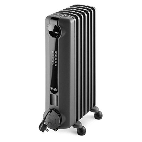Energy Saving Compact (DeLonghi 5,120-BTU Oil-Filled Radiant Compact Personal Electric Space Heater with Thermostat and Energy Saving Setting)