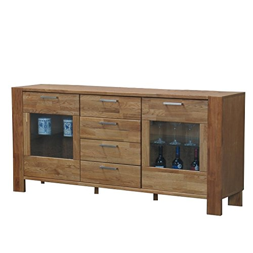 Sideboard-MARK-Kommode-Massivholz-Eiche