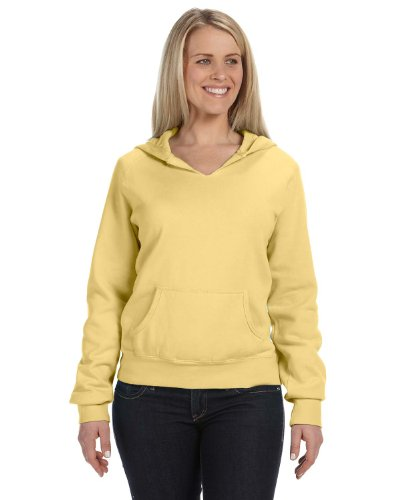 Garment Dyed Pullover Hood (10 oz. Ladies' Garment-Dyed Front-Slit Pullover Hood)