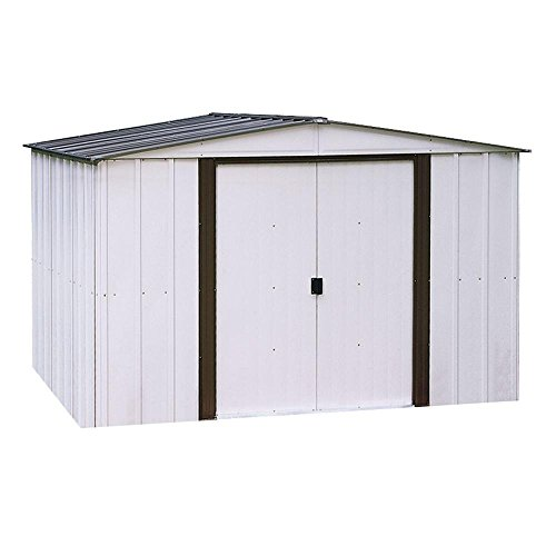Newport 10 ft. x 12 ft. Metal Shed (Newport 10 Ft X 12 Ft Metal Shed)