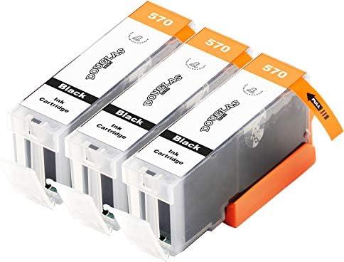 3 Dougalas Inks Cartuchos de Tinta compatibles con Canon PGI-570 ...