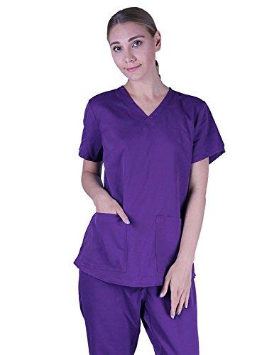 HDE Womens Medical Uniform Shirring product image