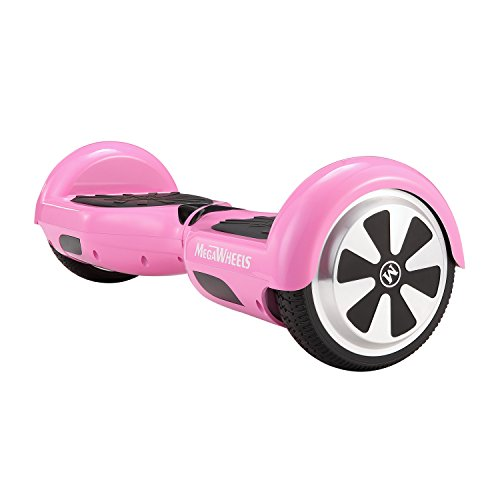 MegaWheels 6.5' Hoverboard UL 2272 Certified Self-Balancing Smart Scooter (Pink)
