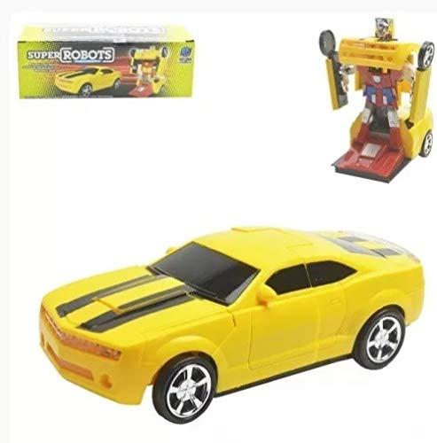 CAMARO Robô Bate E Volta Brinquedo Eletrônico Infantil