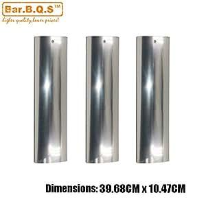 bar. b.q.s 95601(3Pack) de calor de acero inoxidable para modelos de parrilla de Gas barbacoa parrilla placa de calor, calor tienda partes de repuesto, para seleccionar Kenmore 148.16656010, Master falsificar P3018, Master falsificar SH3118B