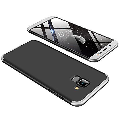 Samsung Galaxy J6 2018 Funda - BCIT Funda Samsung Galaxy J6 2018 360 Grados Integral Para Ambas Caras + Cristal Templado,...