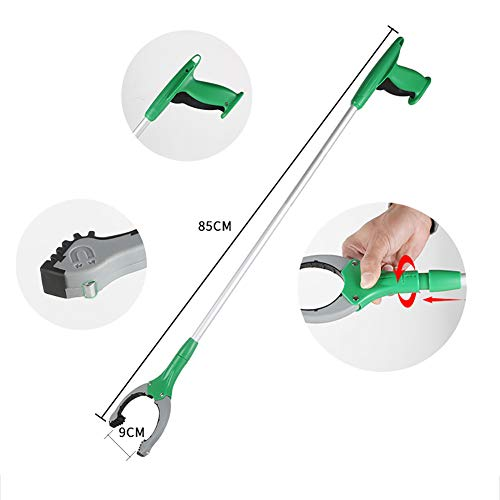 ZDYLM-Y Long Grabber Reacher with Magnet Long Handle Aluminum Alloy Rotatable Environmentally Friendly Picker, Suitable for Garden, Household Picking by ZDYLM-Y (Image #3)