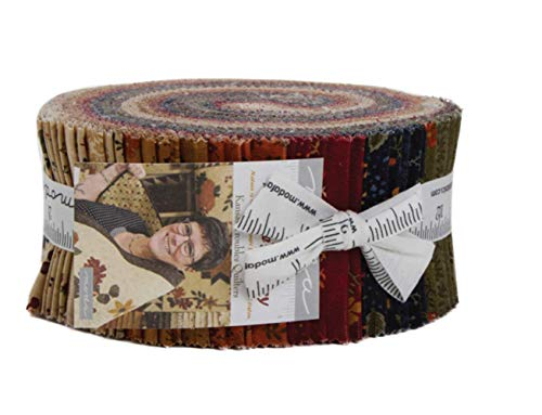 Moda Nature's Glory Jelly Roll by Kansas Troubles Quilters ()