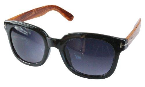 Noir Lunettes retro de couleurs Wayfarer soleil differentes style 80's monture qfzqTRrw